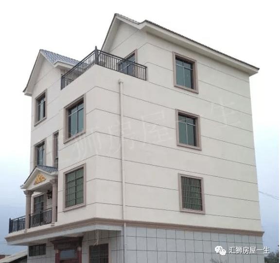 """农村自建房外墙装修选择用""""瓷砖""""还是""""艺术墙彩王""""呢?"""