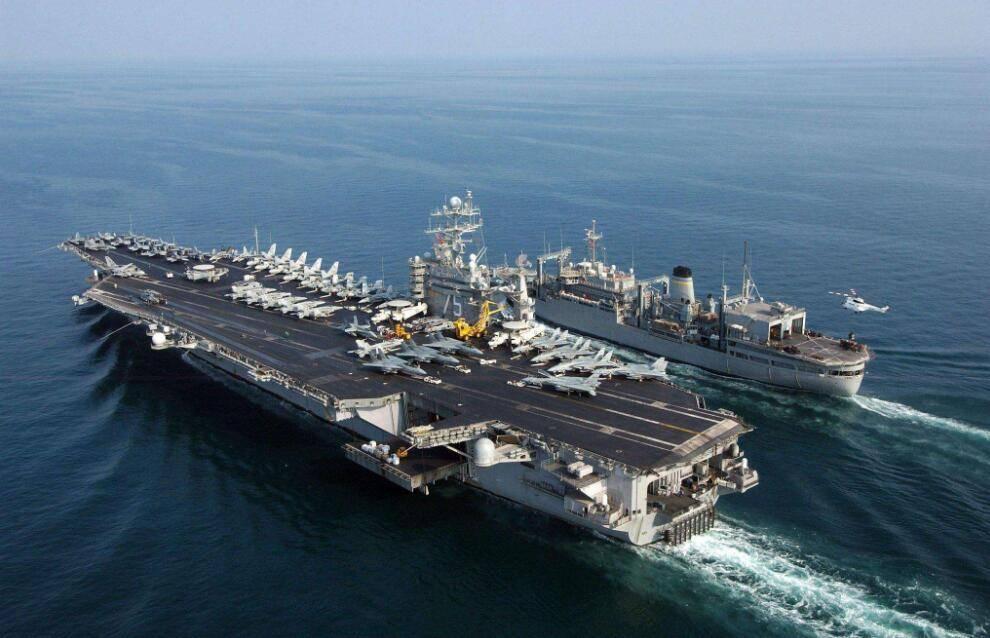 释放重要信号,s400导弹与苏35同时现身海峡,严禁美舰自由航行