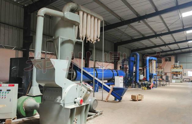 生物质颗粒燃料生产线设备生产流程详解
