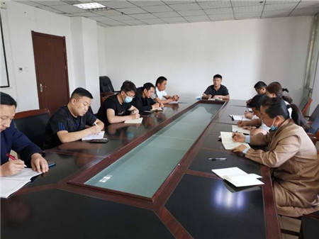 馆陶县疾控中心多措并举开展扫黑除恶活动
