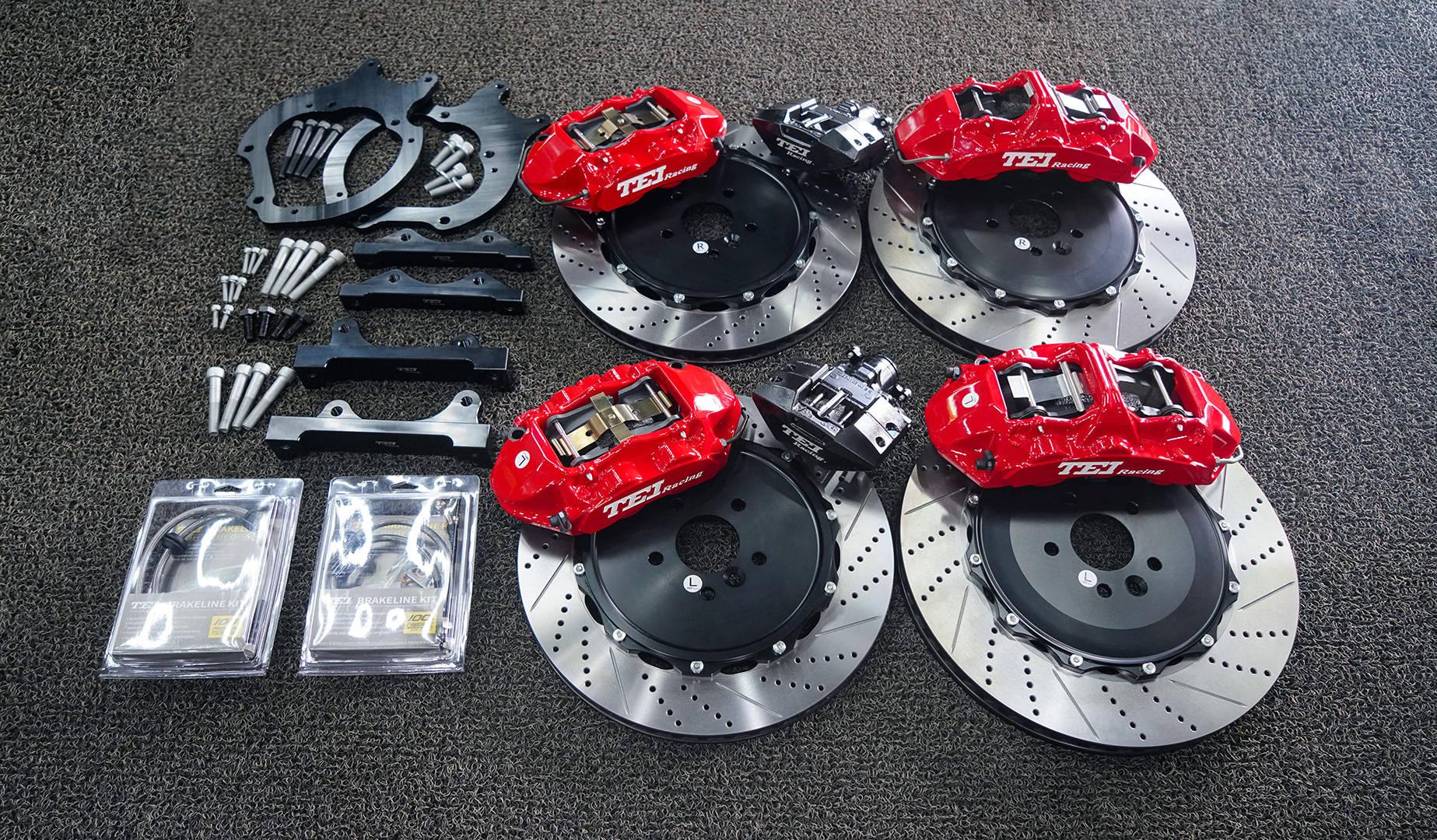 捷豹XFL改装TEI赛车S系列街头版高性能刹车套件
