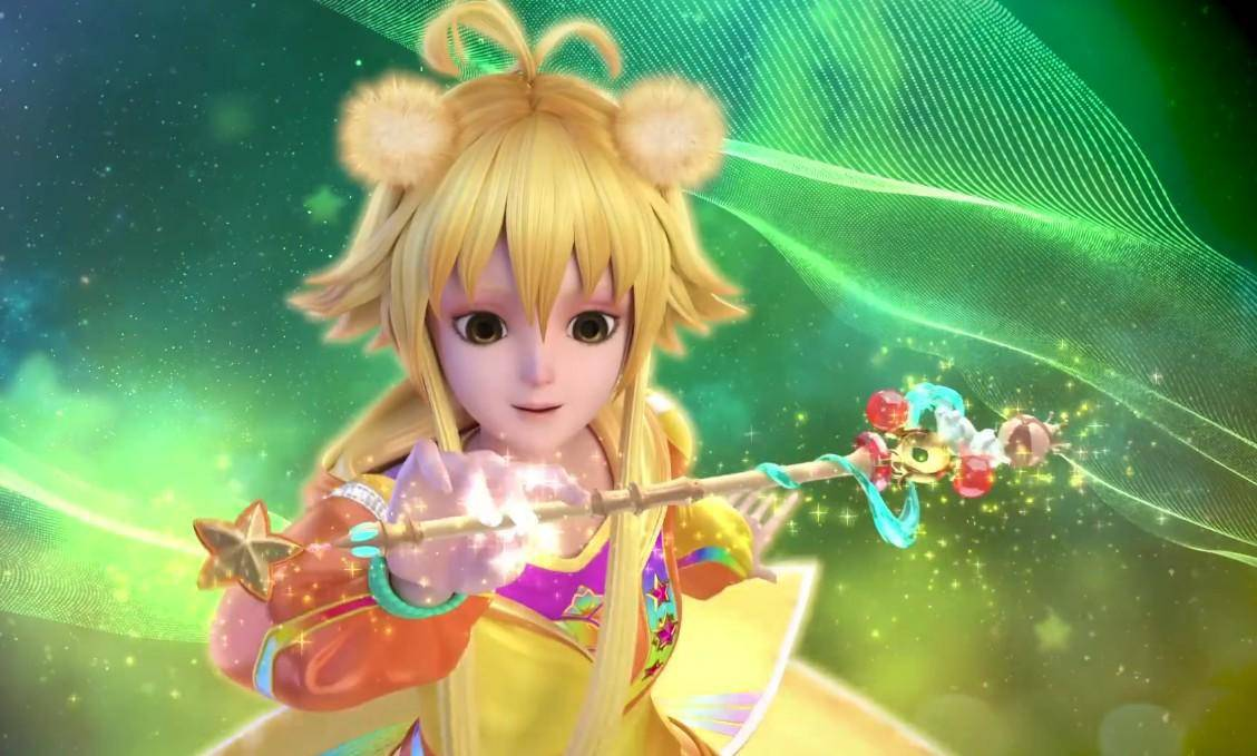 叶罗丽:仙子都有隐藏身份,亮彩的身份是什么?星彩宝杖图片
