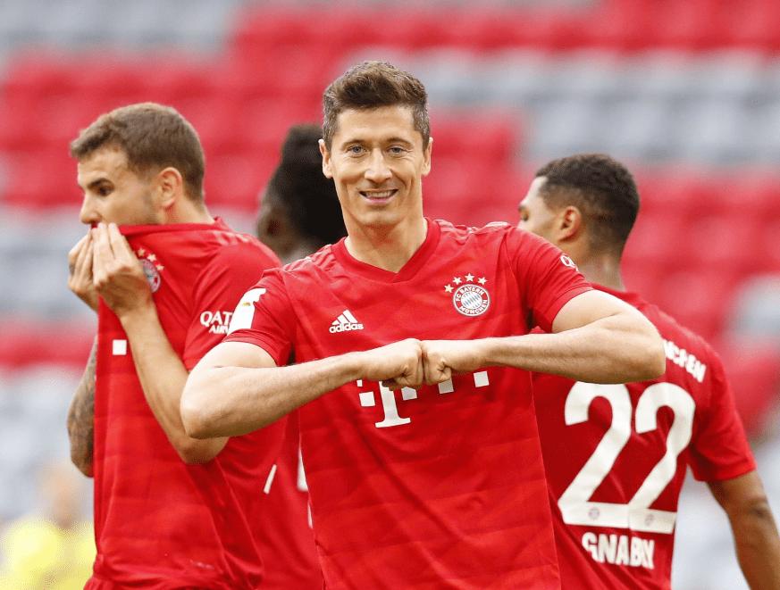 27场28球!拜仁慕尼黑明星进行绝世通吃,甩梅西c罗9球,冲击性欧洲金靴奖!