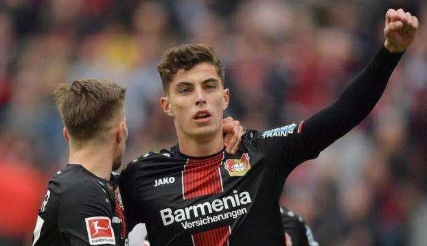 本站德甲模拟赛-哈弗茨建功 勒沃库森3-0完胜拜仁