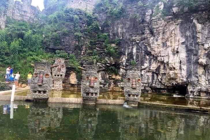 贵州的这处神秘峡谷,以成语命名的人造景区,门票仅需20元
