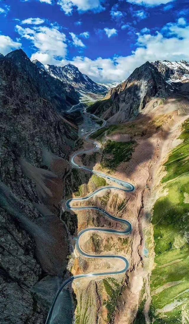 沉寂了7个月,新疆这条景观大道终于再度开放