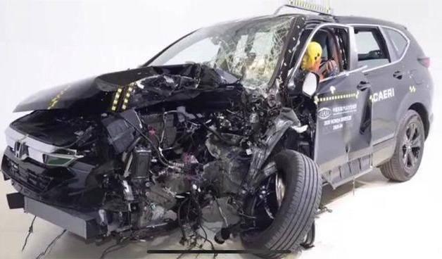 在宝岩过去做的碰撞测试中,日系车的整体表现都比较优秀 本田皓影加价买