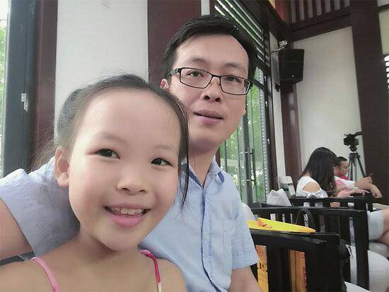 青年作家林萧和女儿申雨霏:像文友切磋,这是一件有趣的事情!