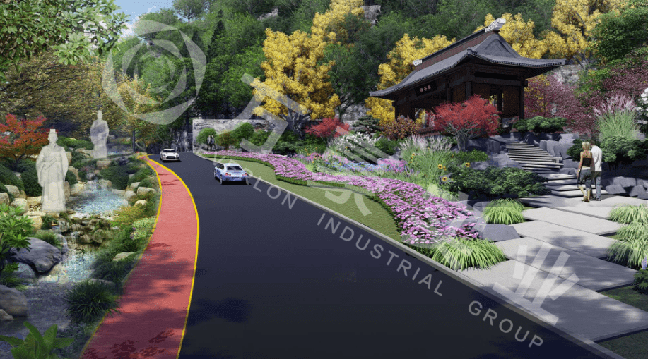 如何实施陵园设计中的分区规划? 安庆军