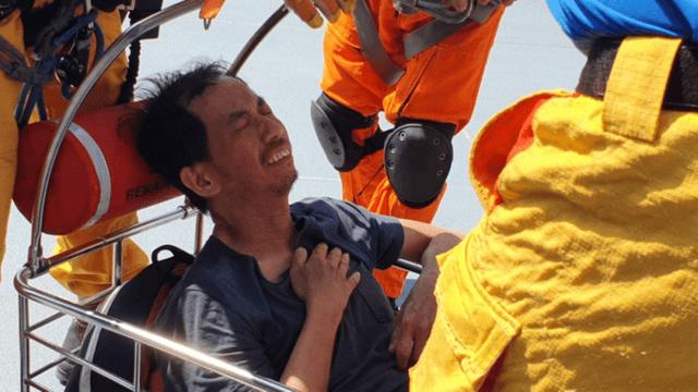 台湾驴友山区被困10天获救 靠喝水喝尿维持生命