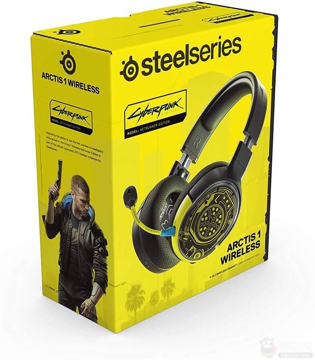 《赛博朋克2077》限定版无线耳机上架售价784.52元