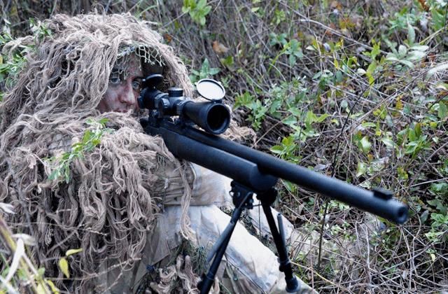 一把狙击枪代表一个国家:美国是M24,英国是AWM,那