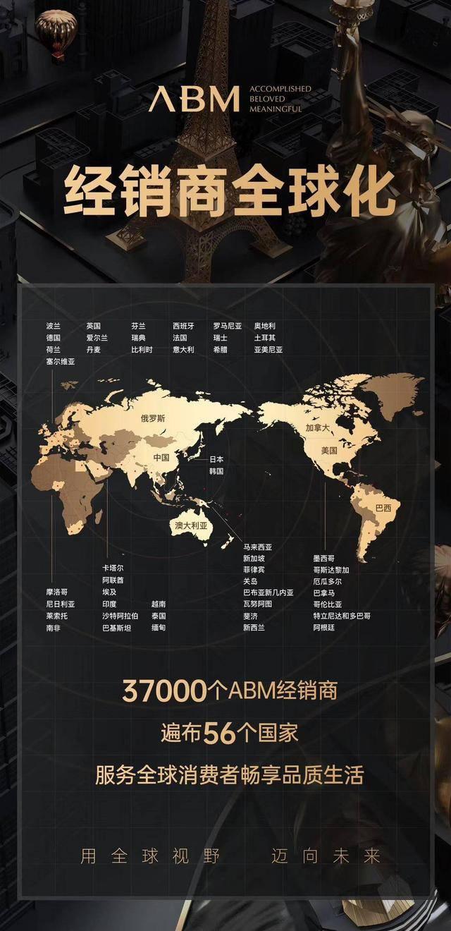 56个国家+23个品牌打造ABM单创全球化布局开端