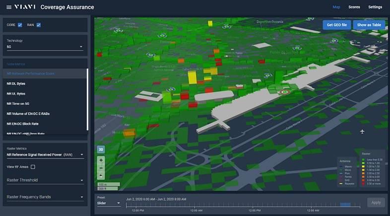 原创             如何掌控5G?VIAVI推出适用5G的3D地理定位解决方案