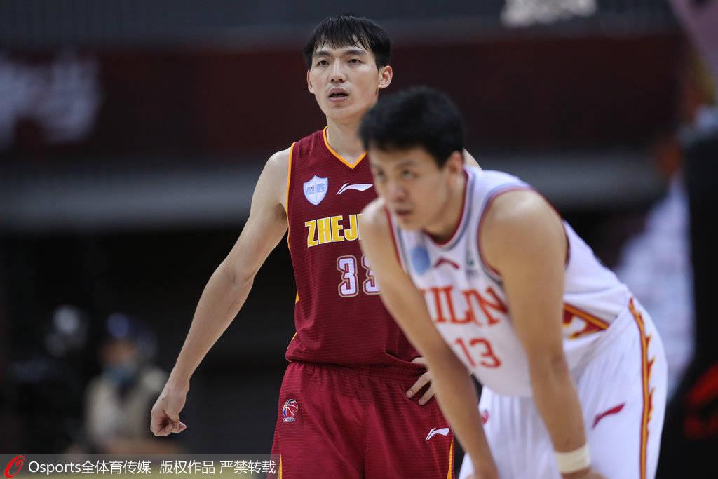 姜宇星复出22分对飚吴前23+11 浙江5人上双险胜吉林