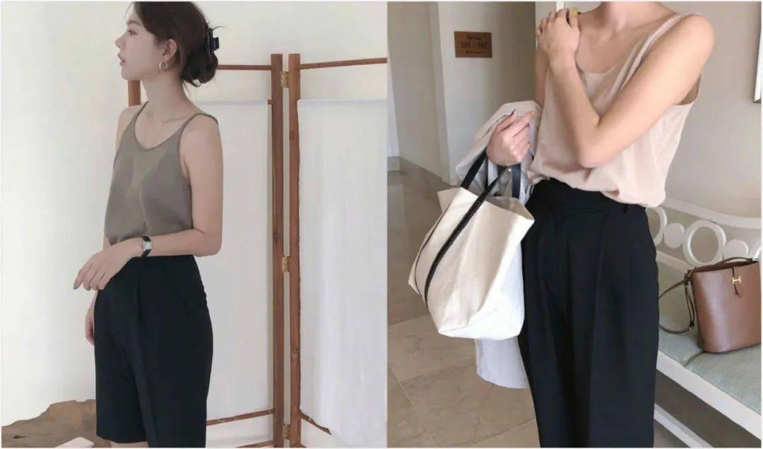 夏日的清爽感就用这件吊带单品来营造,3种搭配方式穿出时尚造型