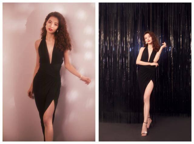 原创综艺造型,钟楚曦港风复古明艳,佟丽娅衣品提升却被表现力扣分