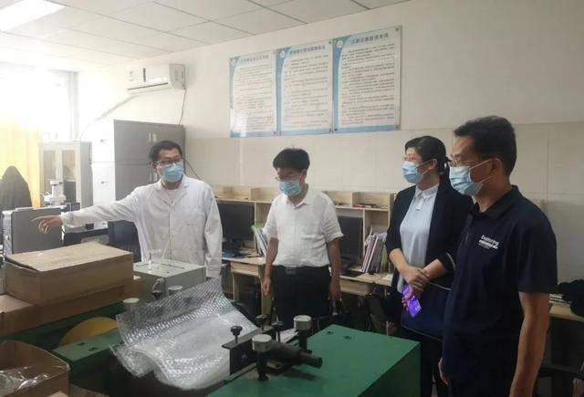 中国贸促会赴暨南大学考察山东氟化工技术创新研究院项目