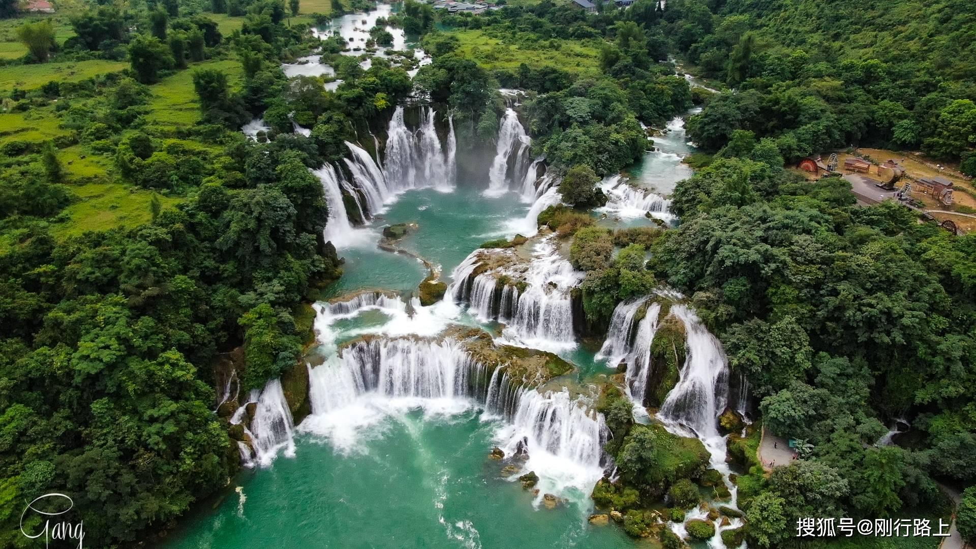 德天瀑布,中越邊境不可錯失的美景,國人不小心就變身出國游
