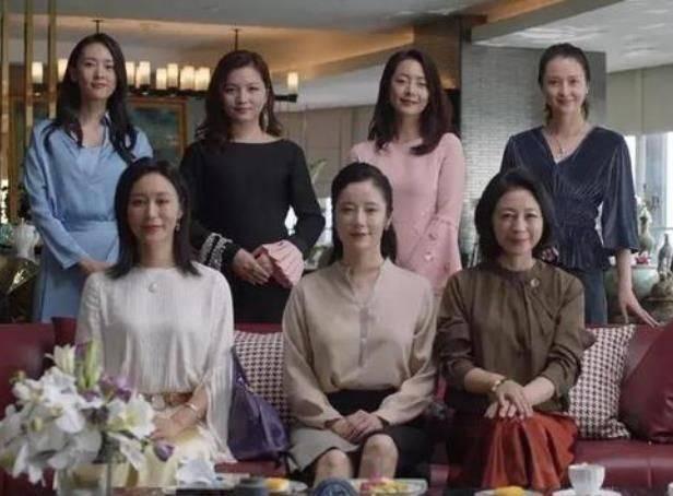 三十而已阔太太戏外背景PK,李太太是章子怡同学,于太太嫁郭保坤