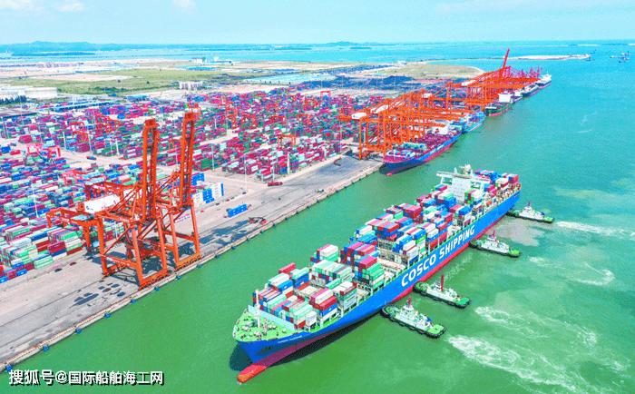 进入万标箱船时代!广西钦州港可通航100000吨级集装箱船