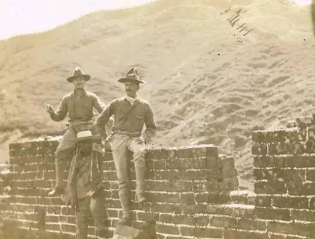 八国联军入侵紫禁城老照片:慈禧光绪西逃,联军长驱直入