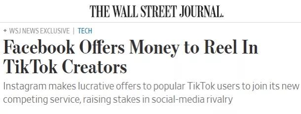 """比特朗普更想""""杀死""""TikTok的,是扎克伯格"""
