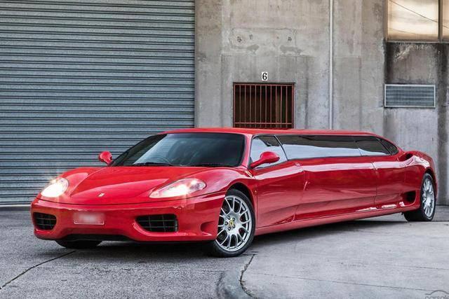 售价近198.8万元,一款法拉利360摩德纳加长版在澳洲发售