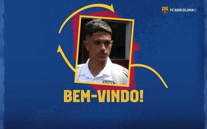 官方:巴萨签巴西19岁妖星 36战轰30球违