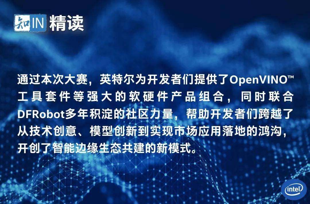 """""""英特尔 OpenVINO工具套件领航者联盟""""集结行动首赛告捷"""