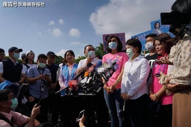 拿着拐杖也要来!高雄市长补选倒数,侯友宜、卢秀燕为李眉蓁站台