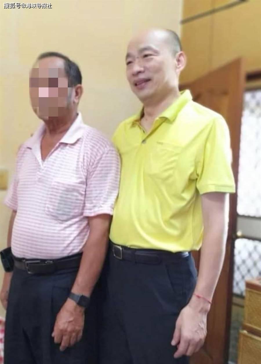 韩国瑜云林访友高清野生照曝光,网友:他神采奕奕,变胖了