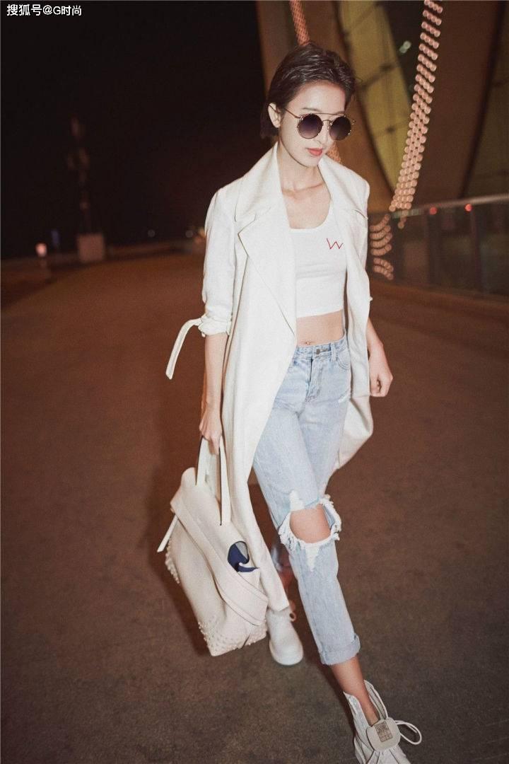原創百搭的破洞牛仔褲也有穿搭法則,學會這七招讓你時髦帥氣兼備