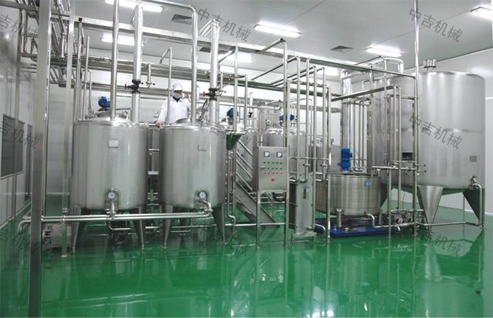 芒果饮料自动生产线工艺说明及芒果饮料