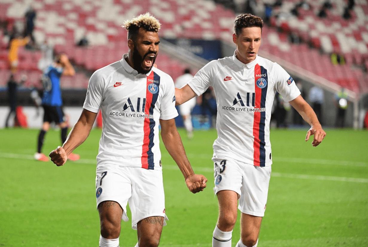 欧冠-舒波莫廷绝杀 巴黎3分钟两球2-1亚特兰大晋级