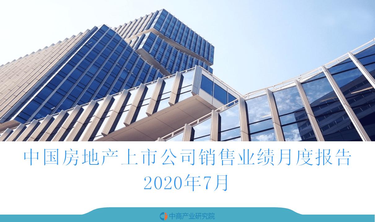2020年7月中国房地产行业经济运行月度报告