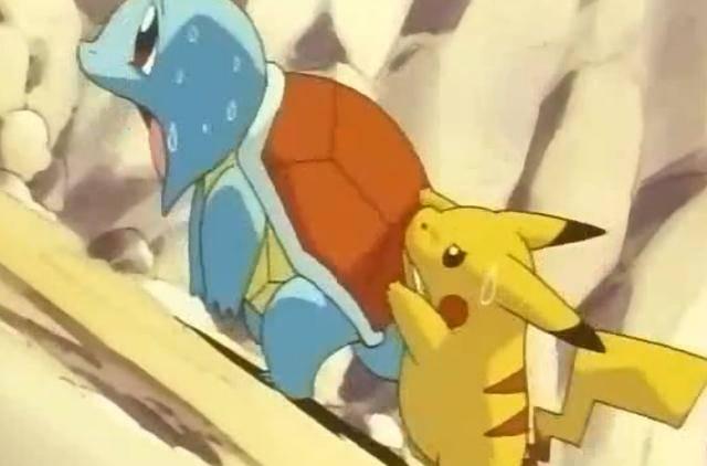 龟岩是什么意思_《宝可梦》动画收视率最高的一集,最有意思的宝可梦赛跑!_雷弹