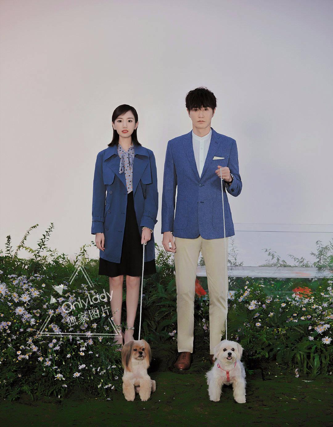 原创杨玏毛晓彤合拍大片,穿情侣装CP感十足,两人牵手出镜太甜了