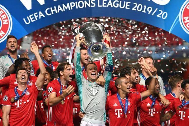 内马尔哑火!拜仁1-0巴黎夺队史欧冠第六冠,一场竞赛两争议判罚