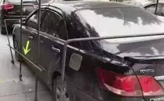 私家车位被清白征服,业主认真对待 攻克