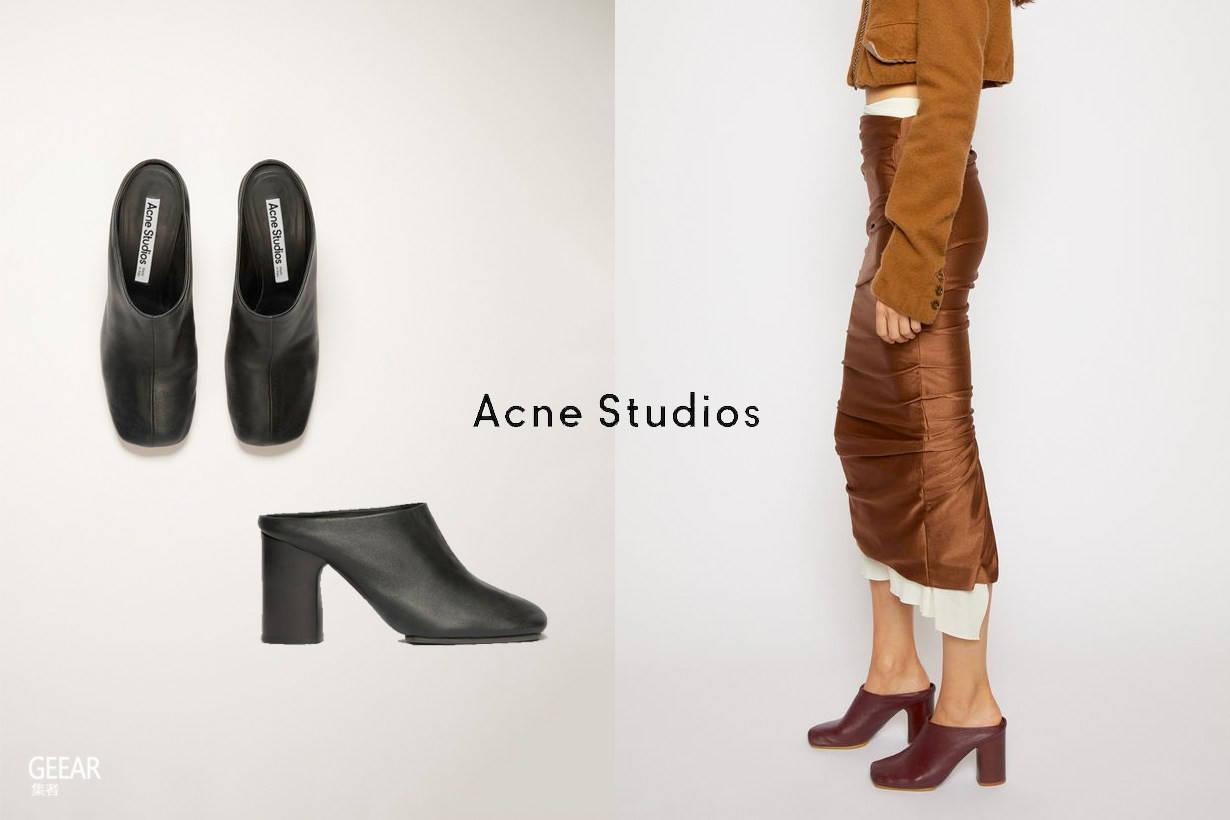 一双高跟穆勒鞋,让你从双脚展现女人味的小心机!