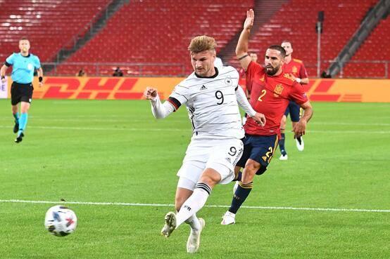 欧国联-德国1-1西班牙