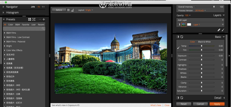 曝光照片摄影编辑插件 高清摄影照片