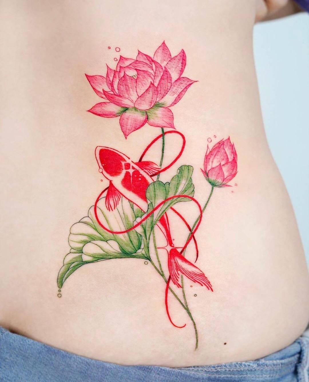女生小纹身图案,精致唯美的小纹身,适合女生的纹身图案图片