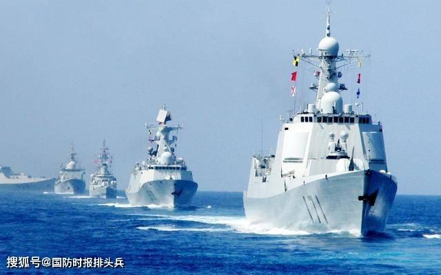防止中国跳出第一岛链,而美国在第二岛链加强