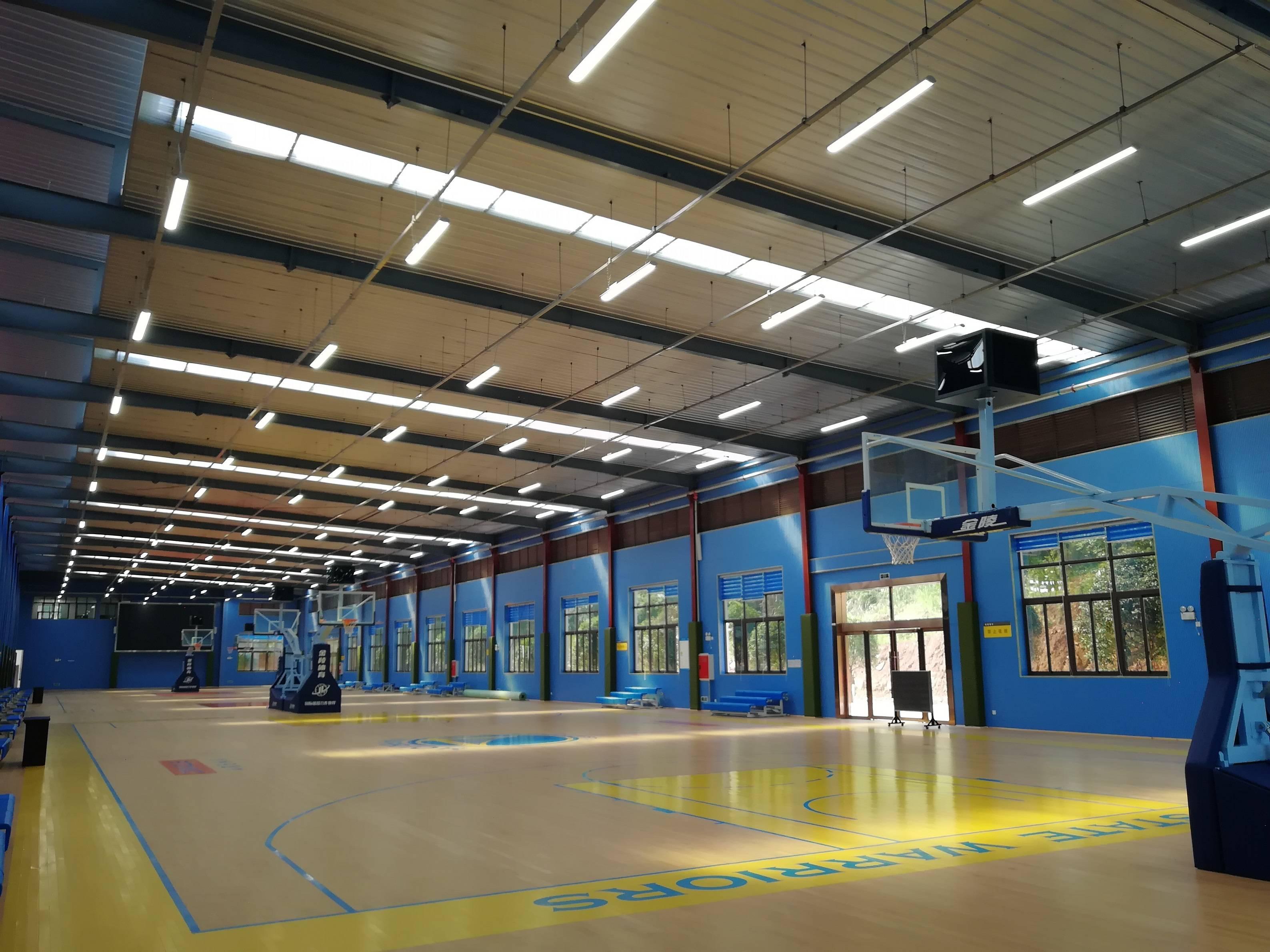 三分失准,湖人不敌掘金!室内体育馆照明有哪些技术要求?