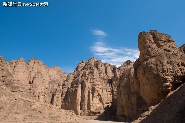 原创             甘肃黄河石林,数百万年前形成的地质奇观,还是影视拍摄地