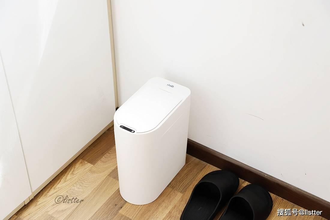 做好垃圾分类不要太简单,小向智能垃圾桶丢湿垃圾完美