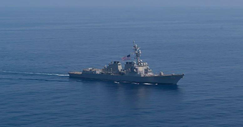 罗斯福号战舰进入黑海
