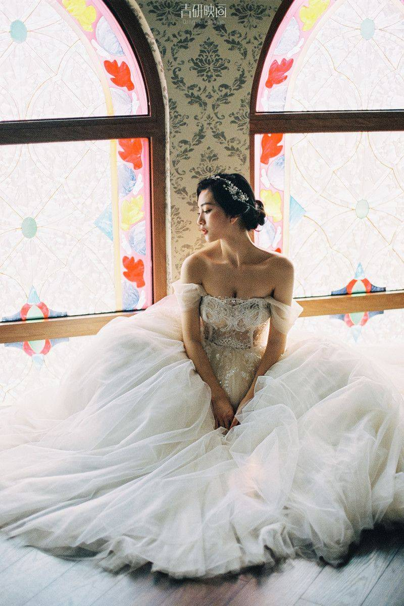 美丽的新娘 摄影师 研衔